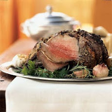Herb-Crusted Standing Rib Roast