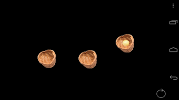 Screenshot of 3 Shell Game Magic Trick