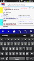 Screenshot of Calendar Pro/en - test version
