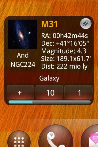 Messier Widget