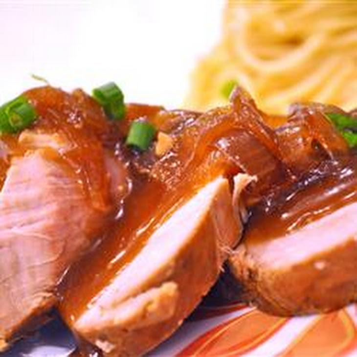 Slow Cooker Teriyaki Pork Tenderloin Recipe | Yummly