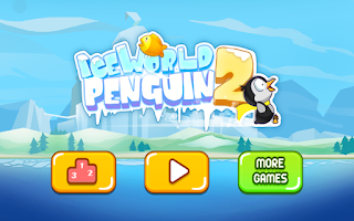 Screenshot of Ice World Penguin 2 - Fishing