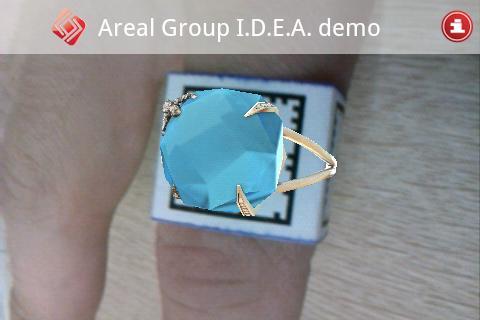 Примерка кольца demo