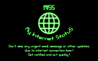 Screenshot of MISS - My Internet Status