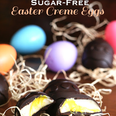 Copycat Easter Cream Eggs – Low Carb and Gluten-Free