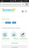 Screenshot of Mega Money App (Earn Dollars$)