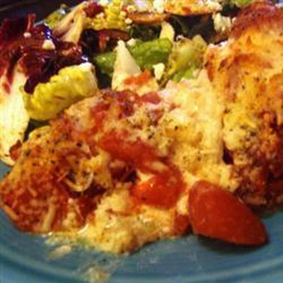 Cheesy Cod Bake