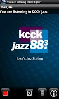 Screenshot of Jazz 88.3 KCCK