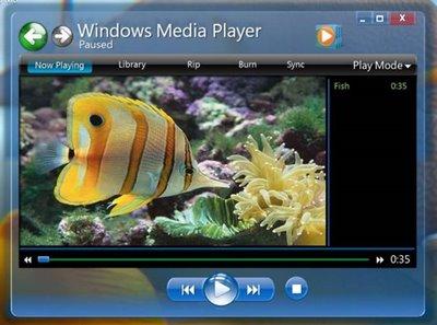 微软新系统Windows 7桌面截图