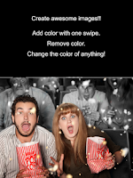 Screenshot of Color FX - splash color