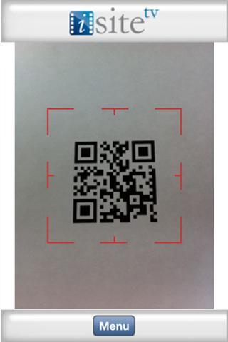 iSiteTV QR Code Reader