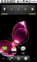 Screenshot of Pink background