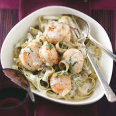 Scallops in Sage Cream