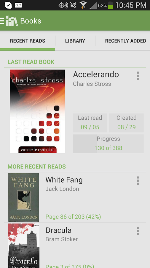 Aldiko Book Reader Screenshot 0