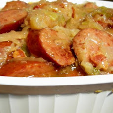 Crock Pot Sauerkraut Supper
