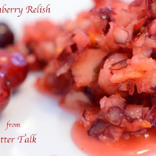 Cranberry Relish With Orange Peel Recipes