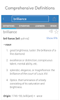 Screenshot of Dictionary.com