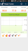 Screenshot of Weight Watchers Mobile AU