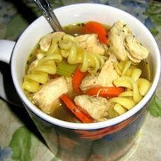 Cheat's Chicken Noodle Soup