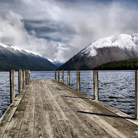 Lake Rotoiti by Tim Bennett - Landscapes Travel ( lake rotoiti, nelson lakes, sth island, new zealand,  )
