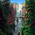 LiveWallpaper  JungleWaterfall icon