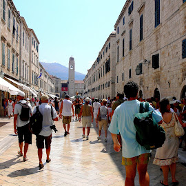 People by Melinda Todea - City,  Street & Park  Street Scenes ( dubrovnik, scenes, street, people,  )