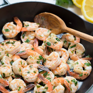 Lemon Garlic Shrimp Healthy Recipes