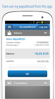 Screenshot of paysafecard – pay cash online
