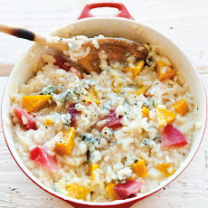 Golden Beet and Blue Cheese Risotto