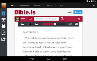 Screenshot of Alliance Biblique du Togo