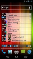 Screenshot of What and When Widget