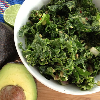 Smashed Kale Salad