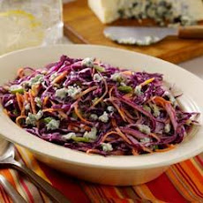 Buttermilk-Blue Cheese Red Cabbage Slaw