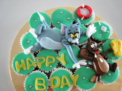 loveacupcake Tom Jerry Cuppies