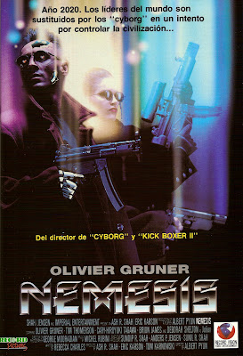 Nemesis (1993, USA / Denmark) movie poster