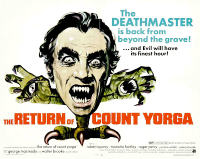 The Return of Count Yorga (1971, USA) movie poster