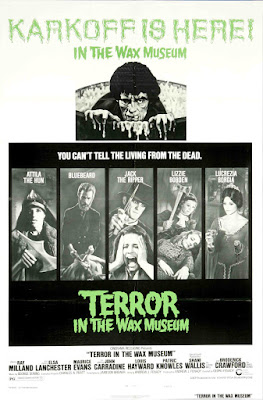 Terror in the Wax Museum (1973, USA) movie poster