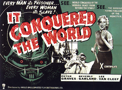 It Conquered the World (1956, USA) movie poster