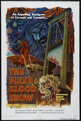 The Flesh and Blood Show (1972, UK / USA) movie poster