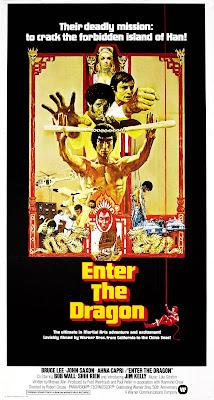 Enter the Dragon (1973, Hong Kong / USA) movie poster
