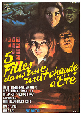 Five Dolls for an August Moon (5 bambole per la luna d'agosto) (1970, Italy) movie poster