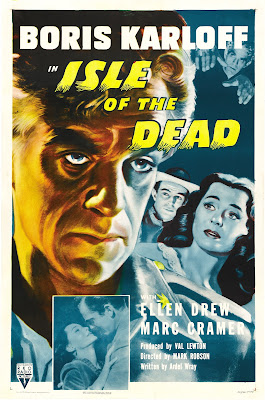 Isle of the Dead (1945, USA) movie poster