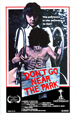 Don't Go Near the Park (1981, USA) movie poster