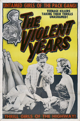 The Violent Years (1956, USA) movie poster