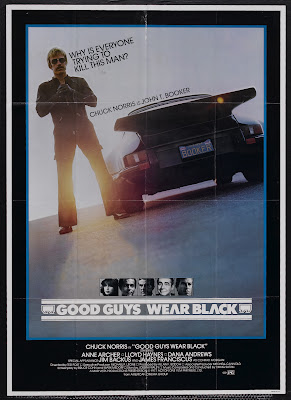 Good Guys Wear Black (1978, USA) movie poster