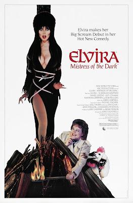 Elvira, Mistress of the Dark (1988, USA) movie poster