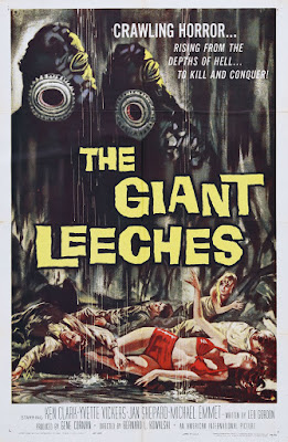Attack of the Giant Leeches (1959, USA) movie poster