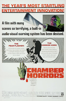 Chamber of Horrors (1966, USA) movie poster