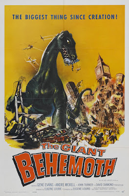 The Giant Behemoth (Behemoth the Sea Monster) (1959, UK / USA) movie poster
