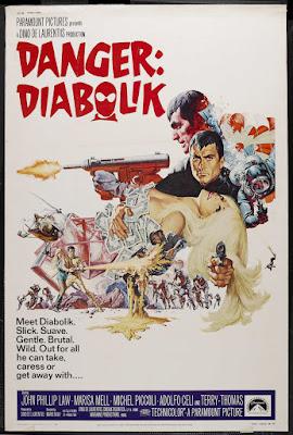 Danger: Diabolik (Diabolik) (1968, Italy / France) movie poster